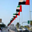 Stock Photo: Waving UAE Flags