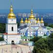 St. Michael Golden-Domed Monastery in Kiev — Stock Photo #15602075