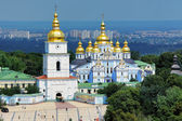 St. Michael Golden-Domed Monastery in Kiev — Stockfoto