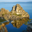 Shamanka-Rock on Baikal lake — Stock Photo