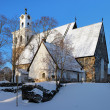 Stock Photo: Church of Holy Cross in Rauma, Finland