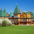 Wooden palace of tzar Aleksey Mikhailovich, Russia — Stock Photo #15732217