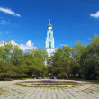 Stock Photo: Belfry of Ascension Church in Ekaterinburg