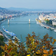 Stock Photo: View on Budapest and Danube