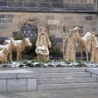Stock Photo: Nativity scene in Prague near the St. Vitus Cathedral