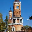 Gardos Tower (Millennium Tower) in Zemun, Belgrade, Serbia — Stock Photo