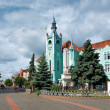 Town Hall of Mukachevo, Western Ukraine — Stock fotografie #15732917