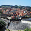 View on the Cesky Krumlov, Czech Republic — Stock Photo
