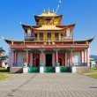 Sockshin-dugan - main temple of the Ivolginsky Datsan, Buryatia - Stock Photo