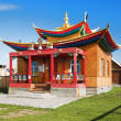 Maanin-dugan in the Ivolginsky Datsan, Buryatia - Stock Photo