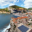 Panorama of the Budva, Montenegro — Stock Photo