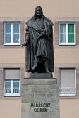 Albrecht Durer Monument in Nuremberg, Germany — Stock Photo