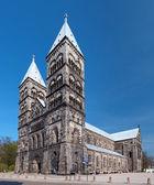 Katedrála v lundu, švédsko — Stock fotografie