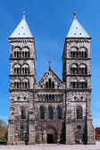 Facade of the Lund Cathedral, Sweden — Stock Photo