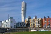 Turning Torso - Skyscraper in Malmo, Sweden — Stock Photo
