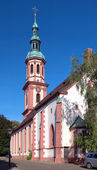 Holy Cross Church in Offenburg, Germany — Foto Stock