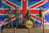 Monument to The Beatles in Donetsk, Ukraine — Stock Photo