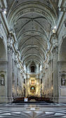 Interior of the Saint Peter Church in Ghent — Stock Photo