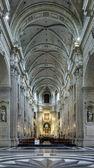 Interior de la iglesia de san pedro de gante — Foto de Stock