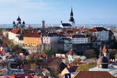 View of the Tallinn Old Town, Estonia — Stock Photo