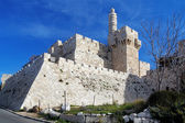 Citadel and Tower of David in Jerusalem — Stock Photo