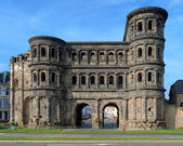 The Porta Nigra (Black Gate) in Trier, Germany — Stock Photo
