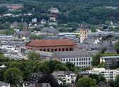 View on Trier with Basilica of Constantine, Germany — Stock Photo