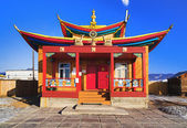 Maanin-dugan - buddhist temple of the Ivolginsky datsan — Stock Photo