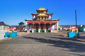 Sockshin-dugan - hlavní chrám ivolginsky datsan, burjatsko — Stock fotografie