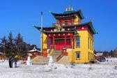 Buddhist temple in Buryatia, Russia — Stock Photo