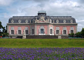 Benrath Palace (Schloss Benrath) in Dusseldorf, Germany — Stock Photo