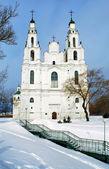 Saint Sophia Cathedral in Polotsk — Stock Photo