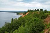 Andoma Cape at the Lake Onega, Russia — Stock Photo