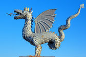 Zilant - official symbol of Kazan, Tatarstan, Russia — Stock Photo