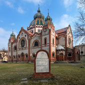 Synagogue in Subotica, Serbia — Stock Photo