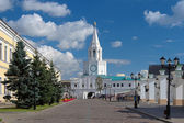 The Spasskaya Tower of the Kazan Kremlin — Stock Photo