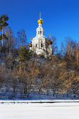 Church of the Holy Trinity in Moscow — Stock Photo