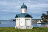 Chapel of Alexander Nevsky in Solovetsky monastery — Stock Photo