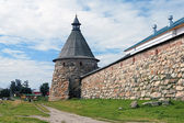 White Tower of Solovetsky Monastery, Russia — Stock Photo