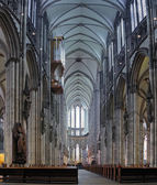 Interior of Cologne Cathedral, Germany — Foto Stock