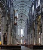 Interno della cattedrale di colonia, germania — Foto Stock