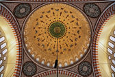 Painted dome of the Suleymaniye Mosque in Istanbul — Stock Photo