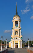 Dormition Church in Voronezh, Russia — Stockfoto