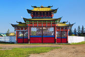 Gates of the Ivolginsky Datsan, Buryatia — 图库照片