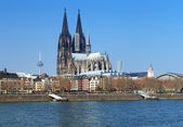 View on Cologne Cathedral, Germany — Stock Photo