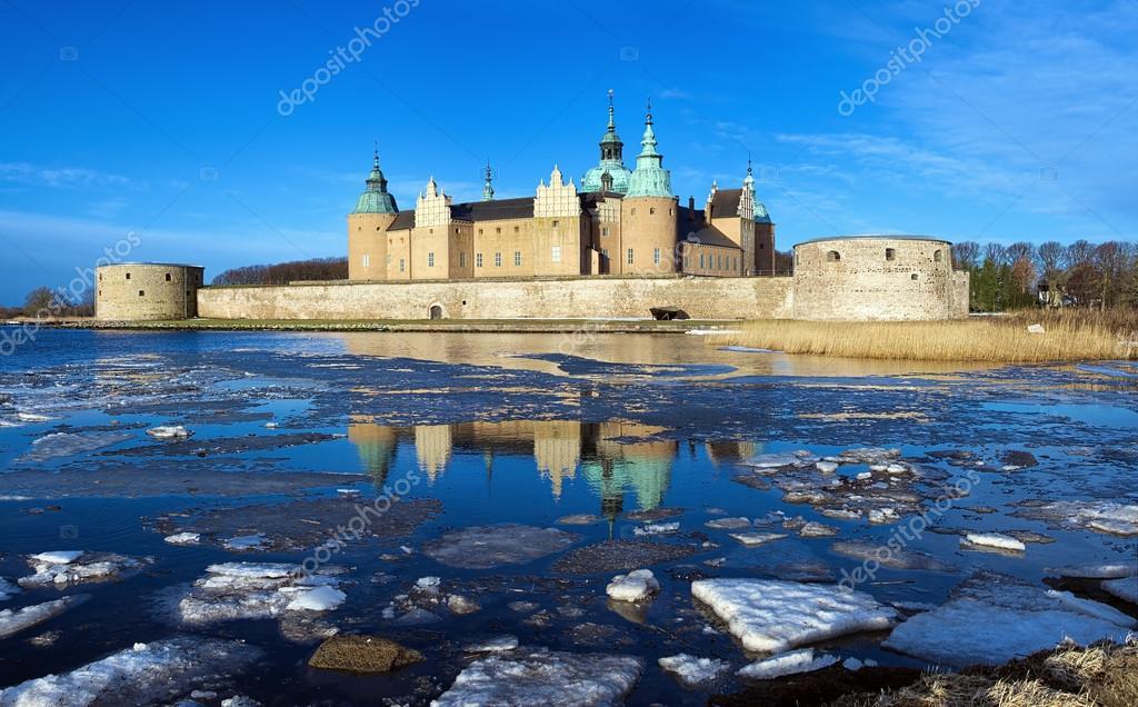 瑞典的风景城堡