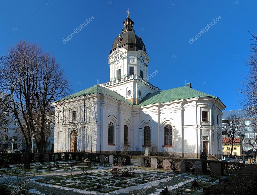 Church of Adolf Frederick in Stockholm, Sweden — Stock Photo #15732995