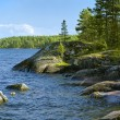 Royalty-Free Stock Photo: Stony shore of Ladoga lake
