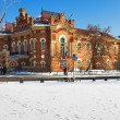 The building of the Irkutsk Regional Museum - Stock Photo
