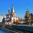 Cathedral of the Epiphany in Irkutsk — Stock Photo #15761713